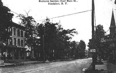 Business Section, East Main St., Frankfort, N.Y.
