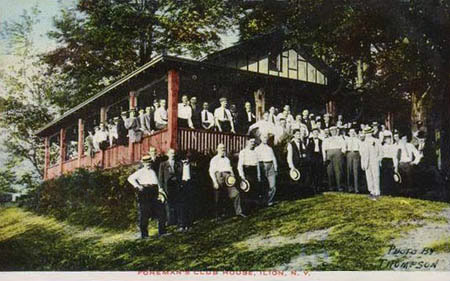 Foreman's Club House, Ilion, N.Y.