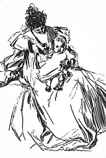 [ picture of mother and child]